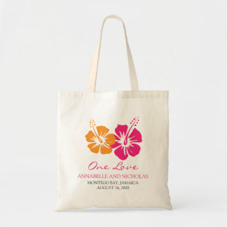 Tropical Hibiscus Flowers Wedding Guest