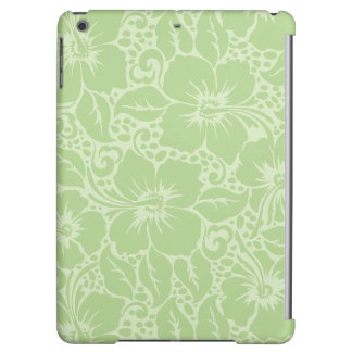 Tropical hibiscus iPad air cover