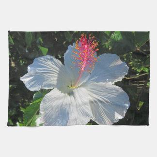 Tropical Hibiscus Kitchen Towel
