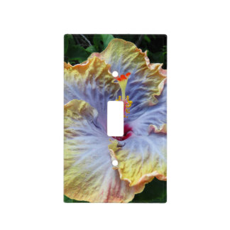 Tropical Hibiscus Light Switch Cover