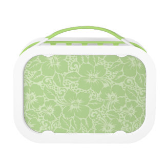 Tropical hibiscus lunch box