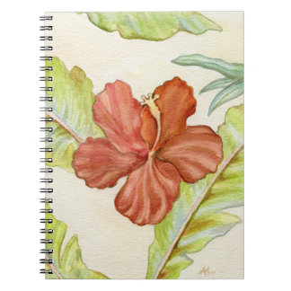 Tropical Hibiscus notebook