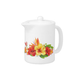 Tropical Hibiscus Small Pitcher