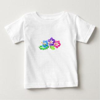 tropical hibiscus summer beach baby T-Shirt