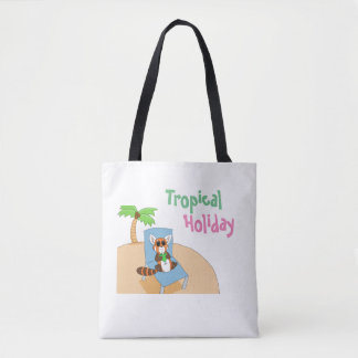 Tropical Holiday Tote Bag