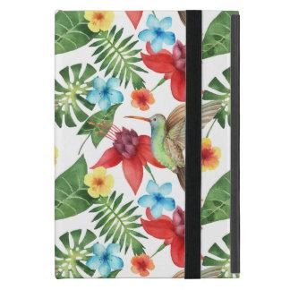 Tropical Hummingbird iPad Mini Cover