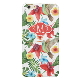 Tropical Hummingbird | Monogram