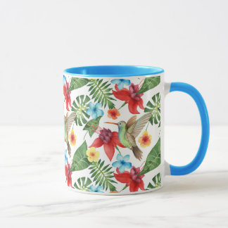 Tropical Hummingbird Mug