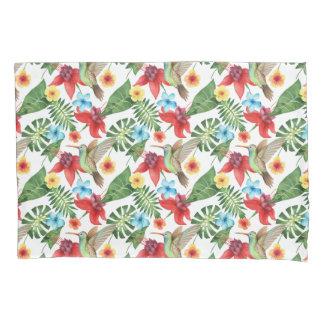 Tropical Hummingbird Pillowcase