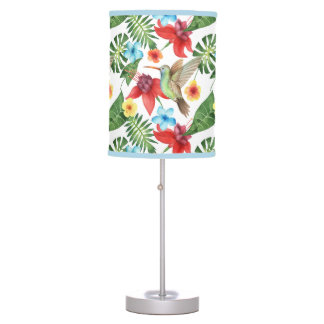 Tropical Hummingbird Table Lamp