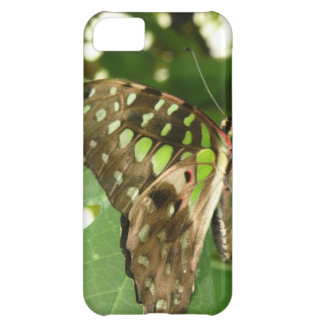 Tropical Iridescent Green Butterfly iPhone Case iPhone 5C Cases