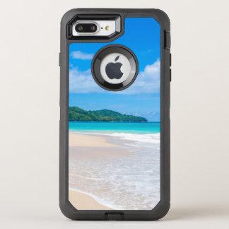 Tropical Island Beach Turquoise Ocean OtterBox Defender iPhone 8 Plus/7 Plus Case