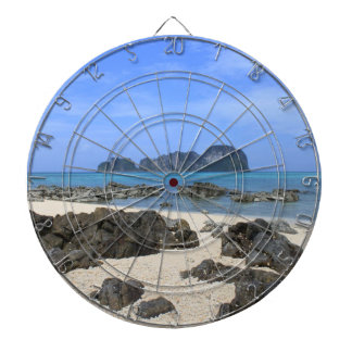 Tropical island dartboard