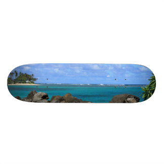 Tropical Island Escape Board Skate Board Deck