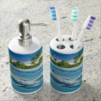 Tropical Island Fantasy Bath Set