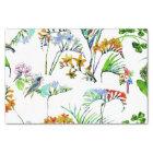 Tropical Island Flowers & Birds Tissue Paper