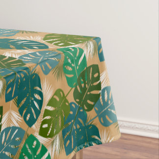 Tropical Island Foliage Tablecloth