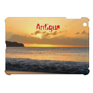 Tropical island in Antigua Case For The iPad Mini