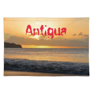 Tropical island in Antigua Placemats