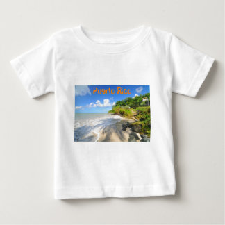 Tropical island in Puerto Rico Baby T-Shirt