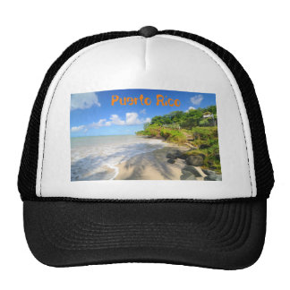 Tropical island in Puerto Rico Trucker Hat