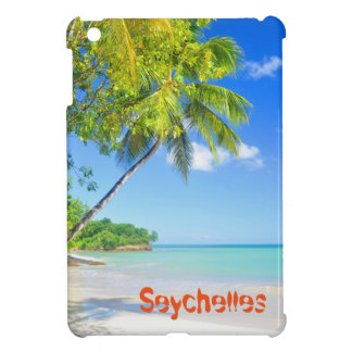 Tropical island in Seychelles Case For The iPad Mini