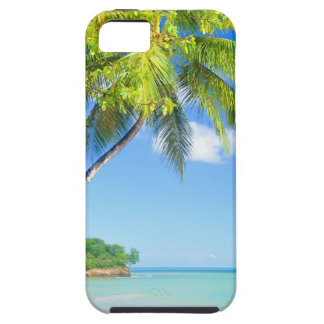 Tropical island in Seychelles iPhone 5 Cases