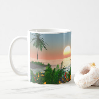 Tropical Island Paradise Coffee Mug