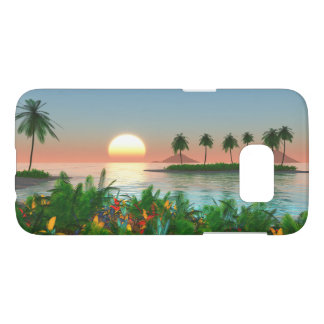Tropical Island Paradise Samsung Galaxy S7 Case