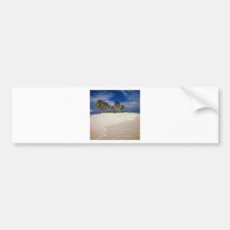Tropical Island Sandy Anguilla Bumper Sticker