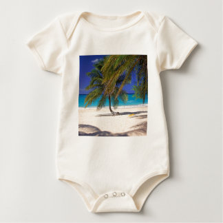 Tropical Island Seven Mile Grand Cayman Baby Bodysuit