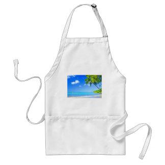 Tropical island standard apron