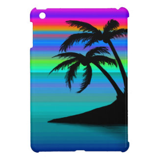 Tropical Island Sunset iPad Mini Cases