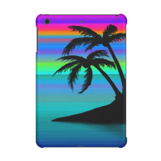 Tropical Island Sunset iPad Mini Retina Case