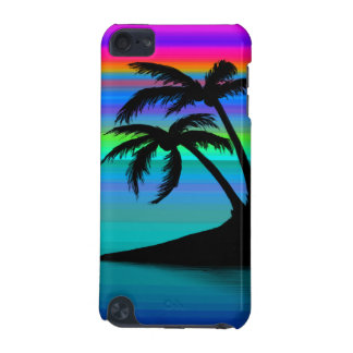 Tropical Island Sunset iPod Touch 5G Cases