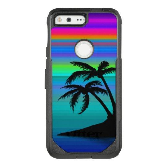 Tropical Island Sunset OtterBox Commuter Google Pixel Case