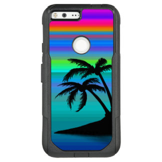 Tropical Island Sunset OtterBox Commuter Google Pixel XL Case