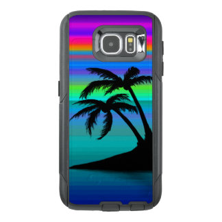 Tropical Island Sunset OtterBox Samsung Galaxy S6 Case