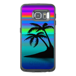 Tropical Island Sunset OtterBox Samsung Galaxy S6 Edge Case