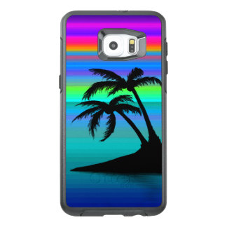 Tropical Island Sunset OtterBox Samsung Galaxy S6 Edge Plus Case