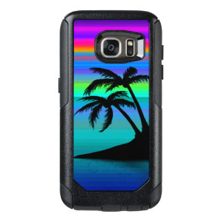 Tropical Island Sunset OtterBox Samsung Galaxy S7 Case