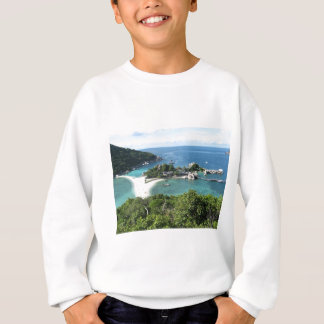 Tropical island sweatshirt