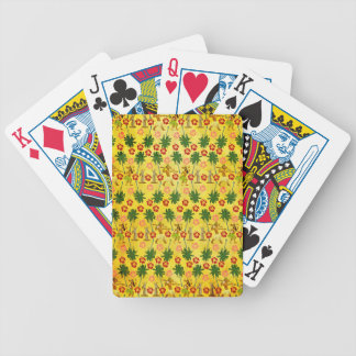 Tropical Island Unicorn Bicycle Playing Cards