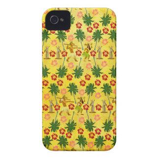 Tropical Island Unicorn iPhone 4 Covers