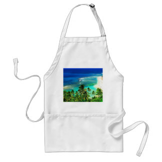 tropical islands standard apron