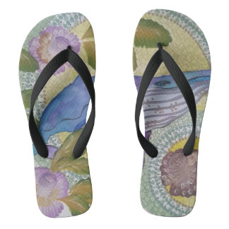 Tropical joy 4 flip flops