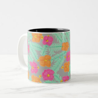 Tropical Jungle Floral Mug
