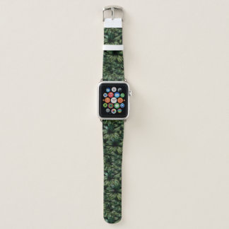 Tropical Jungle Pattern Apple Watch Band