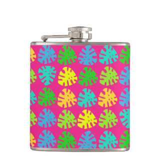 Tropical Jungle Plant - Flask