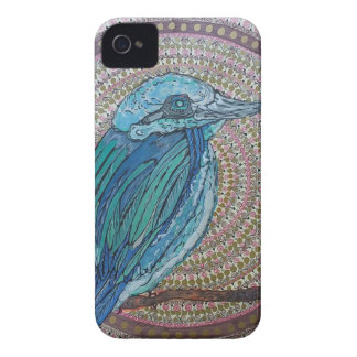 Tropical Kingfisher iPhone 4 Case